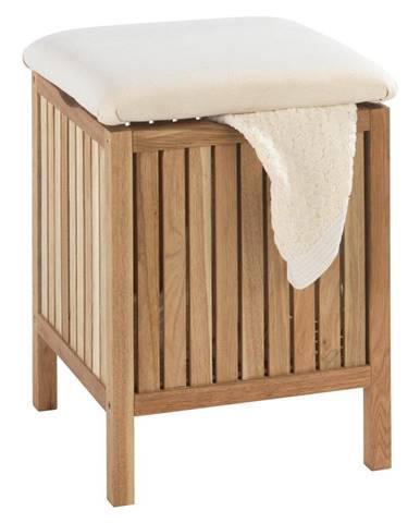 Stolička z orechového dreva s úložným priestorom Wenko Norway