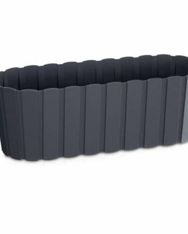 Truhlík plastový, 587x144x130 mm, 7,9 l, BOARDEE CASE, antracit 60