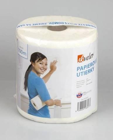 Utierka papierová MAXI, 100% celulóza v rolke 410 útržkov