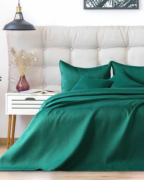 Rotexim AmeliaHome Prehoz na posteľ Carmen alpinegreen, 220 x 240 cm