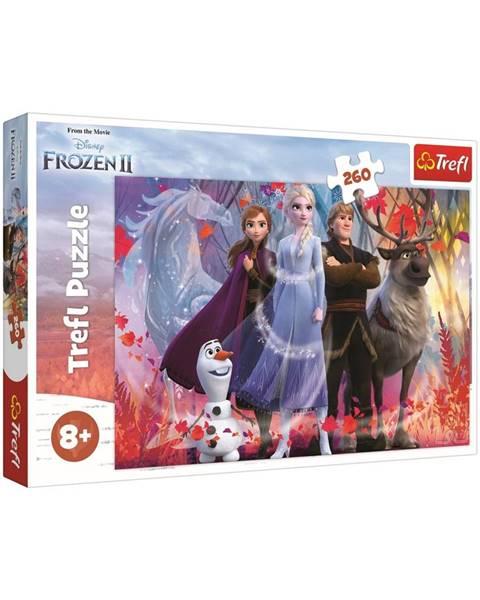 Trefl Trefl Puzzle Ľadové kráľovstvo 2 - Cesta za dobrodružstvom, 260 dielikov