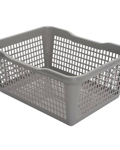 Aldo Plastový košík 35,9 x 26,9 x 13 cm, sivá