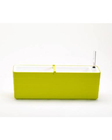 Plastia Samozavlažovací truhlík Berberis 60, zelená + biela