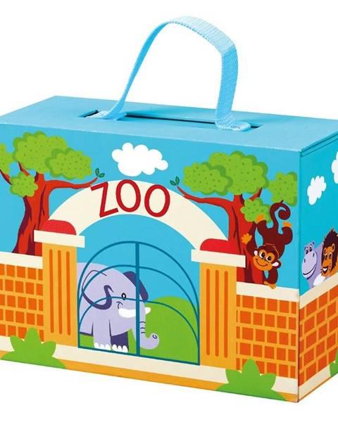 Bino Bino ZOO v cestovním kufříku