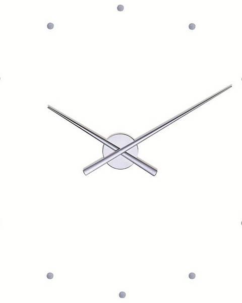 Nomon Nomon OJ nástenné hodiny, strieborná 50cm