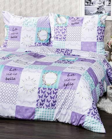 4home Obliečky Lavender micro, 140 x 200 cm, 70 x 90 cm