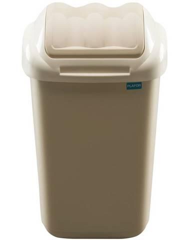 Aldotrade Odpadkový kôš FALA 15 l, béžová