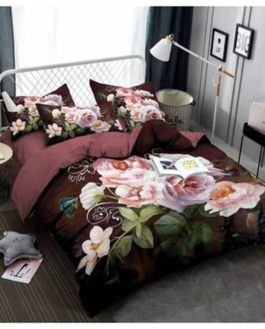 Jahu Obliečky Flower 3D, 140 x 200 cm, 70 x 90 cm