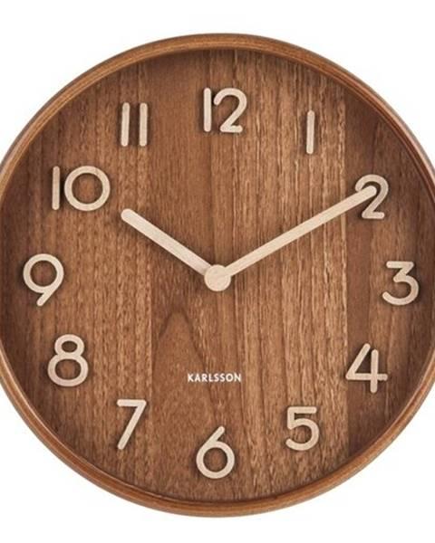 Karlsson Karlsson 5808DW Dizajnové nástenné hodiny pr. 22 cm