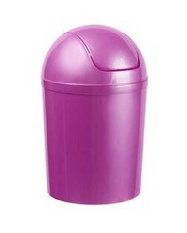 Aldo Odpadkový kôš SWING TOP 5 l, fialová