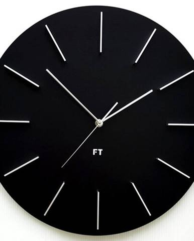 Future Time FT2010BK Round black 40cm