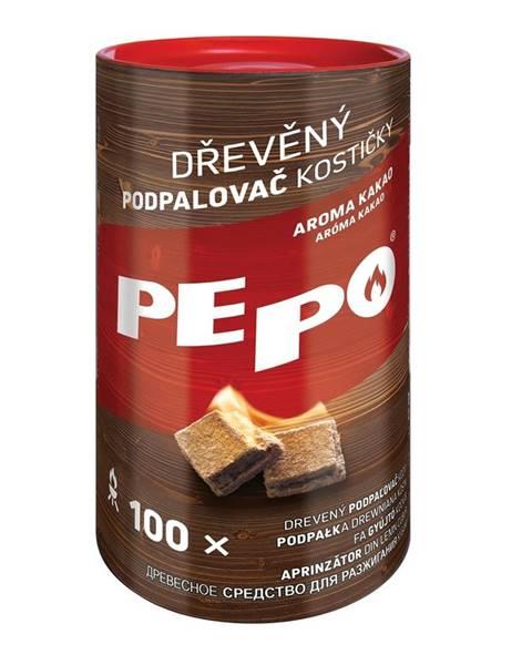 Philips PE-PO Drevený podpaľovač kocky, 100 ks