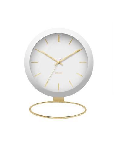 Designové stolní hodiny 5832WH Karlsson 25cm