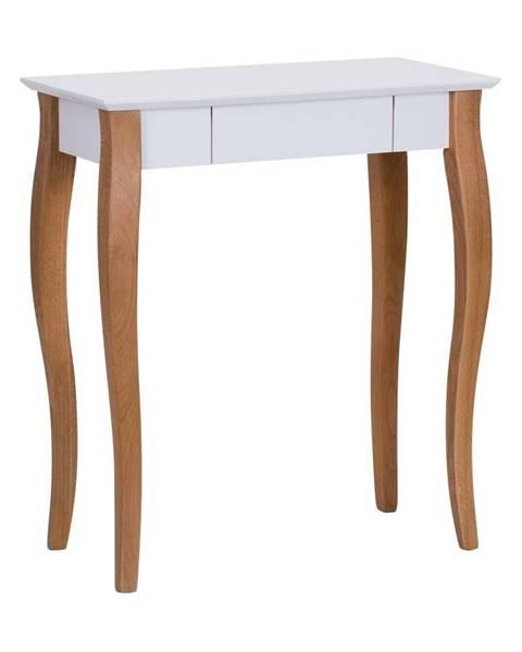 Ragaba Biely písací stôl Ragaba Lillo,dĺžka65cm