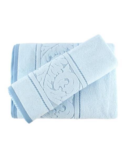 Hobby Sada modrého uteráku a osušky Sultan