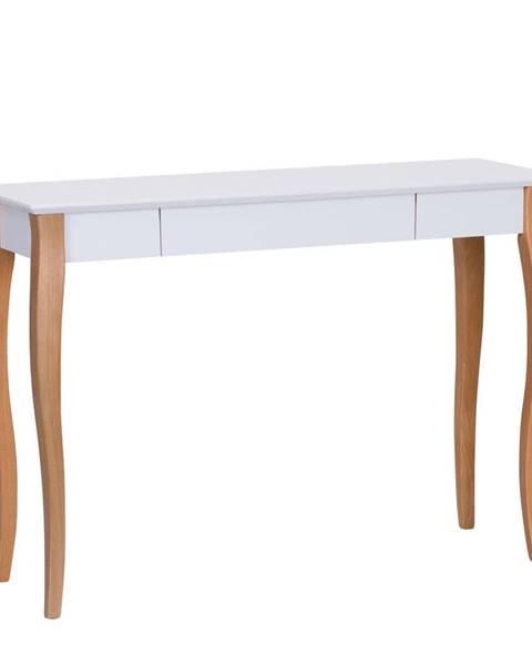 Ragaba Biely písací stôl Ragaba Lillo,dĺžka105cm