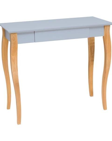 Ragaba Svetlosivý písací stôl Ragaba Lillo,dĺžka85cm