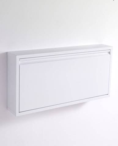 Biela skrinka na topánky Tomasucci Terry, 75 × 37,5 cm