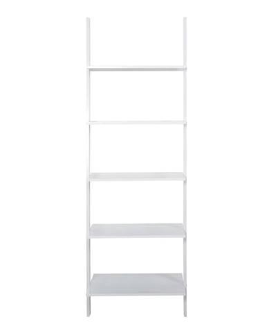 Biely päťposchodový regál Actona Writex