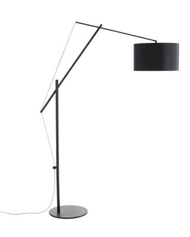 Čierna stojacia lampa Tomasucci Gear