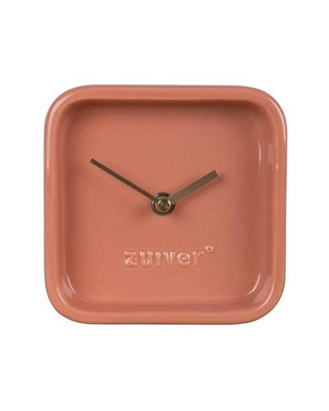 Zuiver Ružové stolové hodiny Zuiver Cute
