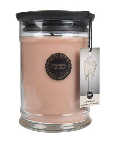 Sviečka v sklenenej dóze s vôňou orientu Bridgewater candle Company Sweet Grace, doba horenia 140 - 160 hodín