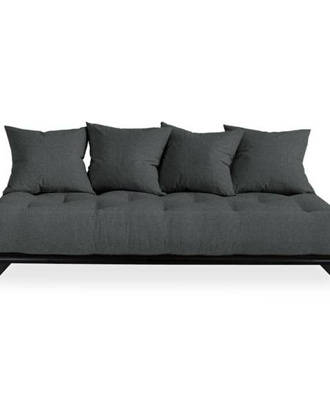 Karup Design Pohovka s tmavosivým poťahom Karup Design Senza Black/Slate Grey