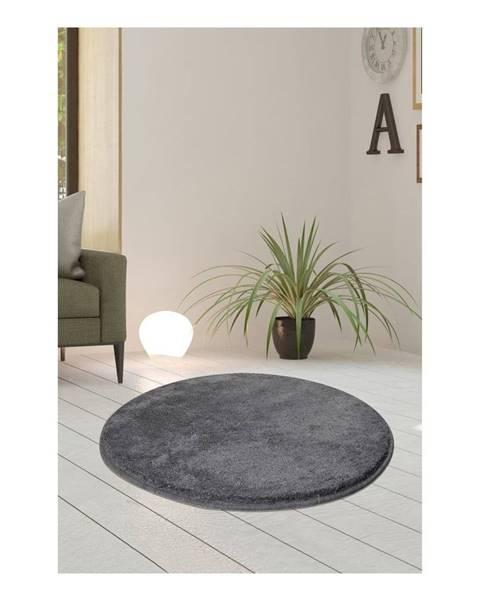 Bonami Sivý koberec Milano, ⌀ 90 cm