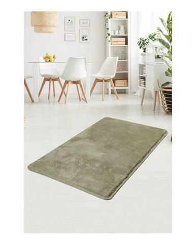Zelený koberec Milano, 140 × 80 cm