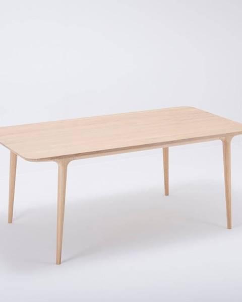 Gazzda Jedálenský stôl z masívneho dubového dreva Gazzda Fawn, 180×90cm