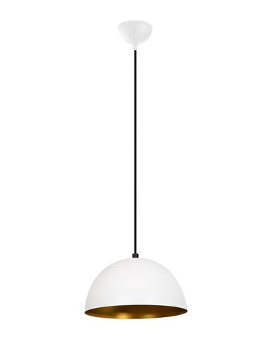 Biele závesné svietidlo Opviq lights Silvani