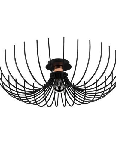 Čierne stropné svietidlo Opviq lights Aspendos, ø 56 cm