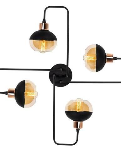 Čierne závesné svietidlo Opviq lights Ani