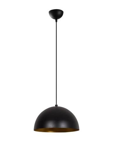 Čierne závesné svietidlo Opviq lights Silvani