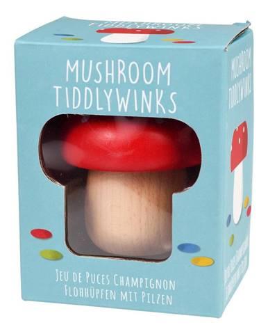 Drevená hračka v tvare huby Rex London Mushroom TiddlyWinks