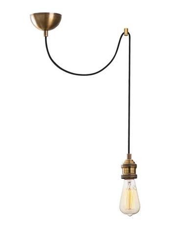 Závesné svietidlo v bronzovej farbe Opviq lights Kabluni