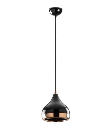 Závesné svietidlo v čierno-medenej farbe Opviq lights Yildo, ø 17 cm