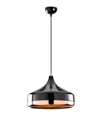 Závesné svietidlo v čierno-medenej farbe Opviq lights Yildo, ø 36 cm