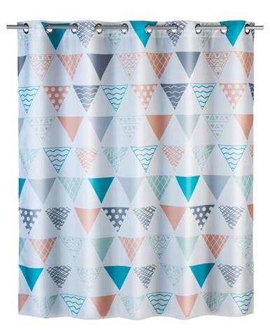Farebný sprchový záves Wenko Ethno, 180 x 200 cm