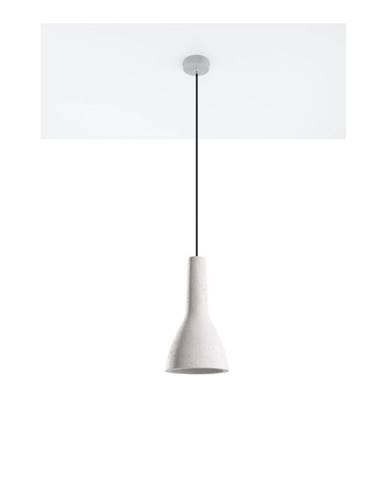 Sivé stropné svetlo Sollux Mattia