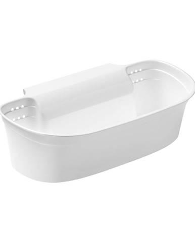 Biely závesný košík na odpad Premier Housewares Cut and Collect