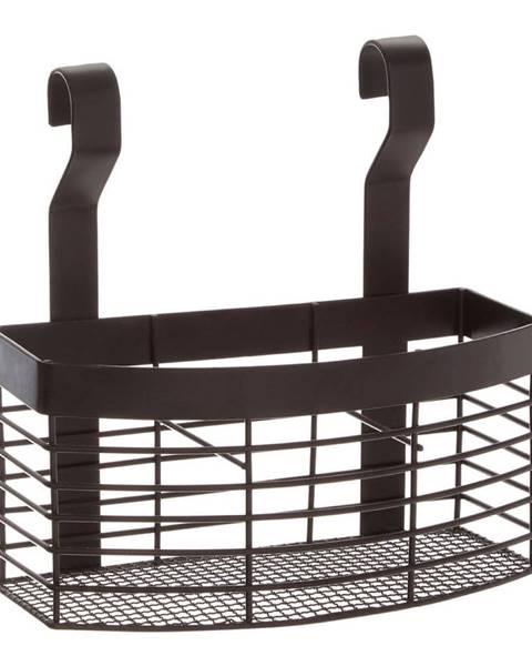 Premier Housewares Čierny závesný košík do kuchyne Premier Housewares Sorello