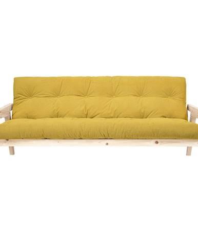Menčestrová variabilná pohovka Karup Design Grab Raw/Honey