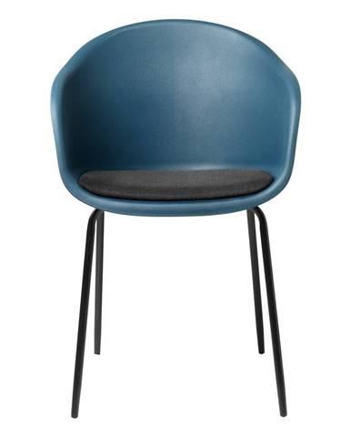 Modrá jedálenská stolička Unique Furniture Topley