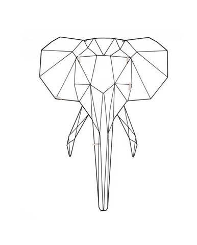 Nástenný vešiak v tvare slona PT LIVING