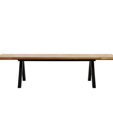 Prídavná doska k jedálenskému stolu z dreva bieleho duba Unique Furniture Oliveto