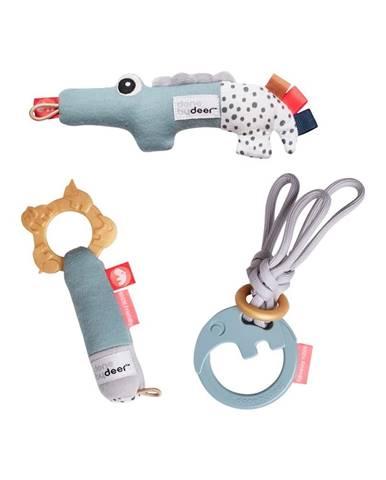 Sada 3 aktívnych hračiek v darčekovom balení Done by Deer Tiny