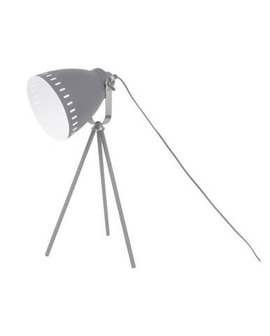 Sivá stolová lampa Leitmotiv Tristar