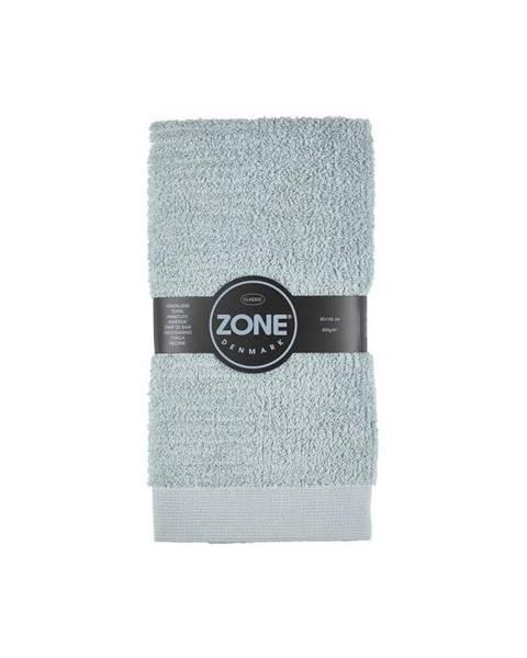 Zone Sivozelený uterák Zone Classic, 50x100cm