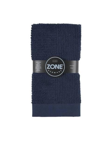 Zone Tmavomodrý uterák Zone Classic, 50x100cm